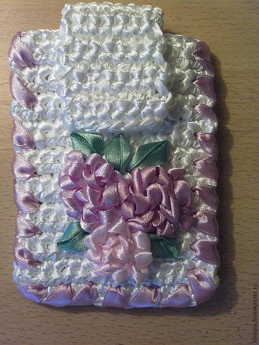 """Для телефонов ручной работы. Ярмарка Мастеров - ручная работа. Купить Чехол для телефона """"Маргаритки"""". Handmade. Белый, цветочный"""