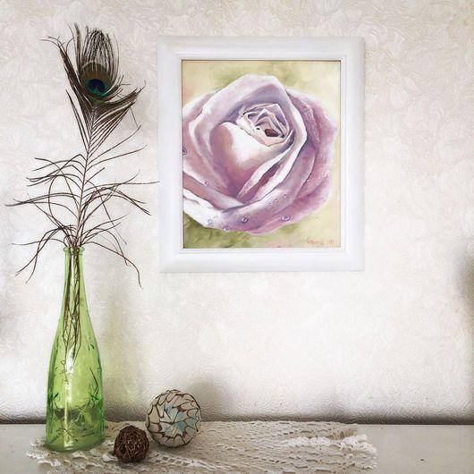"""Картины цветов ручной работы. Ярмарка Мастеров - ручная работа. Купить Картина """"Роза"""". Handmade. Картина в подарок, роза, цветы"""