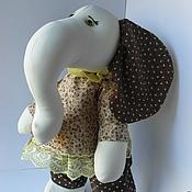 """Куклы и игрушки ручной работы. Ярмарка Мастеров - ручная работа Игрушка. Слон. """"Ариша"""".. Handmade."""