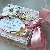 """Открытки ручной работы. Ярмарка Мастеров - ручная работа Коробочка для денег """"Pastel"""". Handmade."""