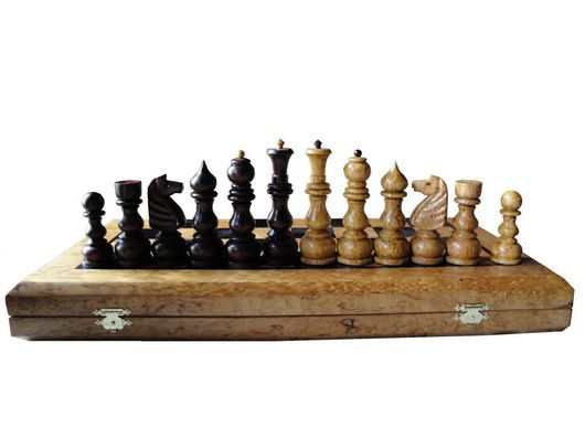 Настольные игры ручной работы. Ярмарка Мастеров - ручная работа. Купить шахматы. Handmade. Шахматы ручной работы, подарок из дерева