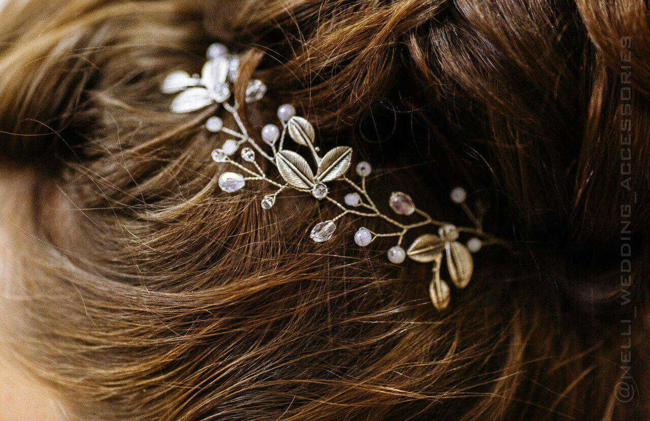 Украшения своими руками свадебные для волос