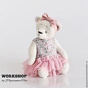 Куклы и игрушки ручной работы. Ярмарка Мастеров - ручная работа Мишка Тедди Балерина Майя - Мягкая игрушка. Handmade.