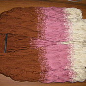 Одежда ручной работы. Ярмарка Мастеров - ручная работа кардиган  в стиле лало ручная вязка. Handmade.