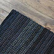 """Для дома и интерьера ручной работы. Ярмарка Мастеров - ручная работа вязаный коврик """"подарок Охотнику"""" прямоугольный. Handmade."""
