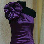 handmade. Livemaster - original item Silk short dress.. Handmade.