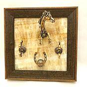 Картины и панно handmade. Livemaster - original item housekeeper jumping horse. Handmade.