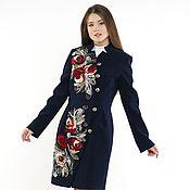 Одежда ручной работы. Ярмарка Мастеров - ручная работа Пальто демисезонное Английская роза. Handmade.