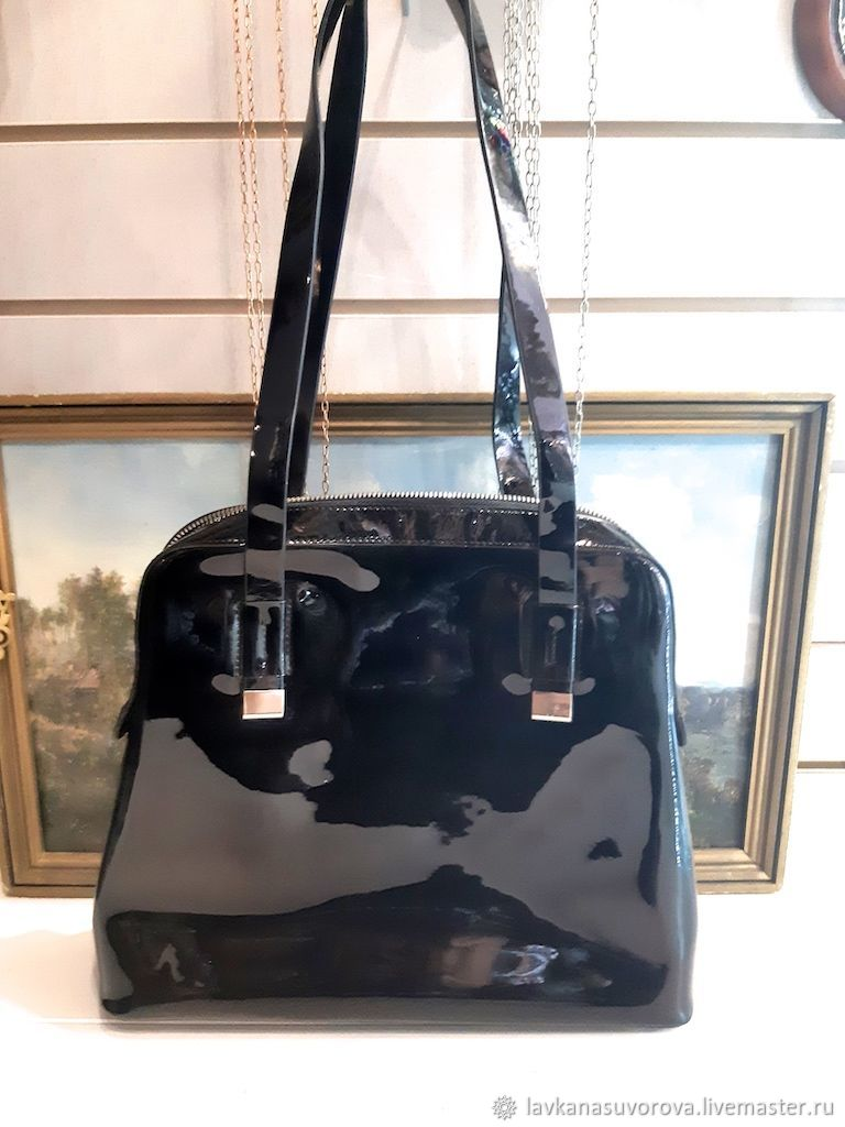 39d5244dc Vintage Handbags & Purses. Livemaster - handmade. Buy Bag CAPOVERSO Italy  genuine leather 33h29 ...