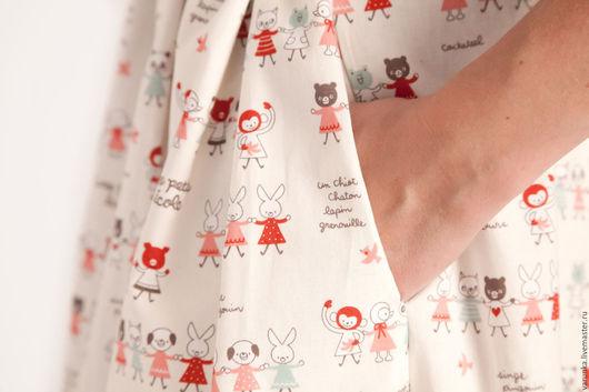 Платья ручной работы. Ярмарка Мастеров - ручная работа. Купить платье Новогоднее). Handmade. Комбинированный, варвара токарева, хлопок