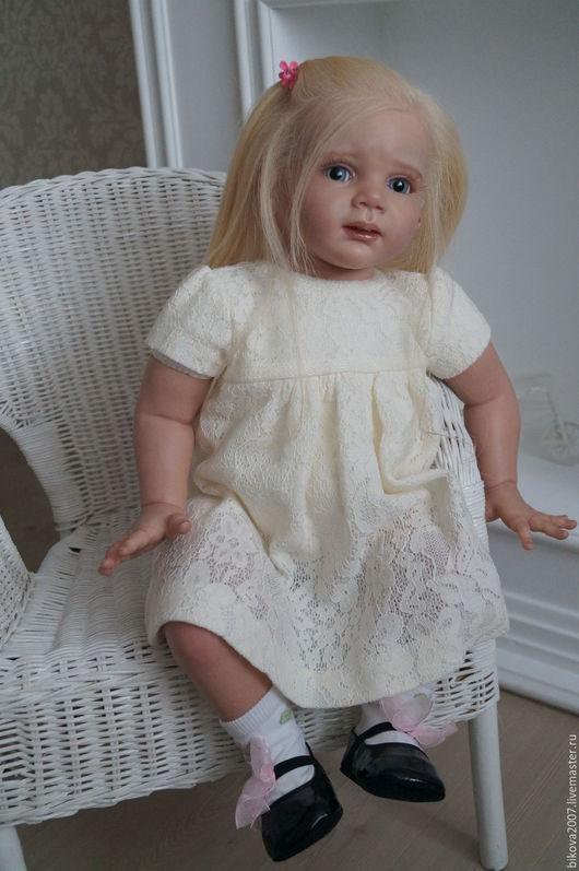 Куклы-младенцы и reborn ручной работы. Ярмарка Мастеров - ручная работа. Купить Анфиса. Handmade. Бледно-розовый, генезис
