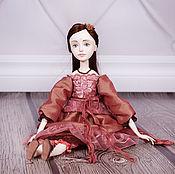 Куклы и игрушки ручной работы. Ярмарка Мастеров - ручная работа Джулия. Будуарная кукла. Handmade.