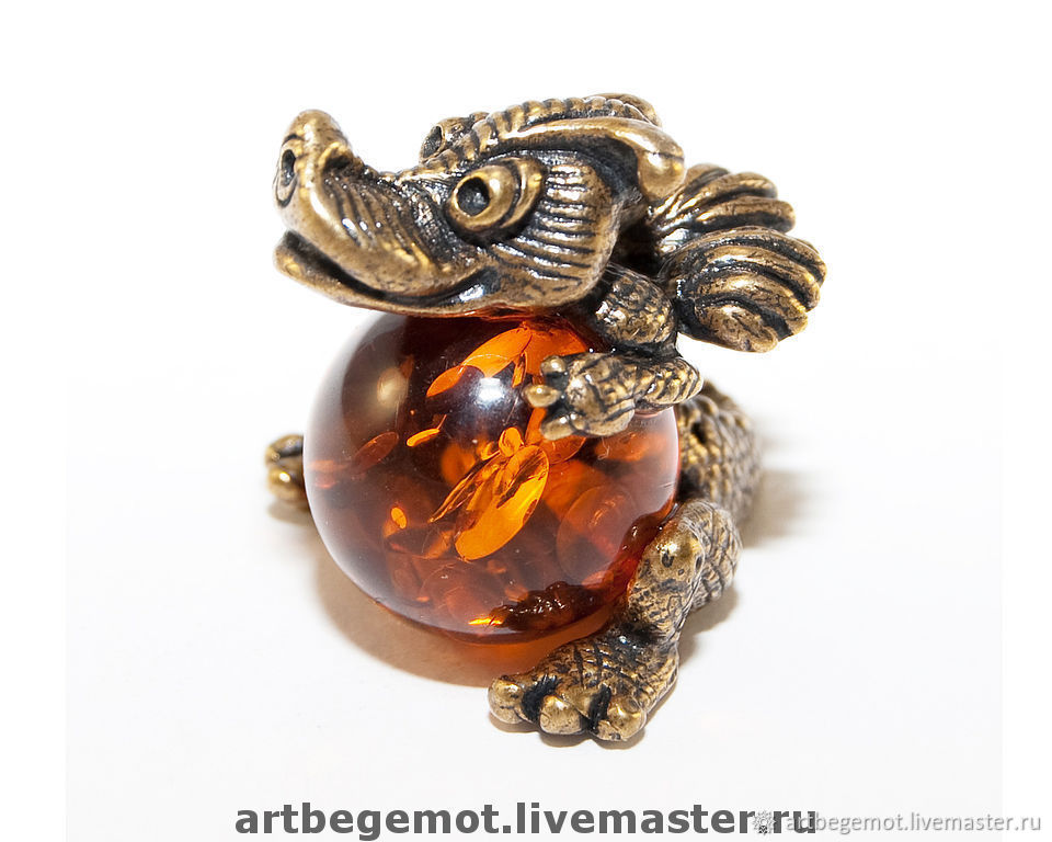 figurine Dragon, Amulet, Kaliningrad,  Фото №1