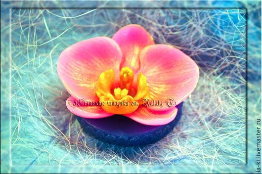 """Мыло ручной работы. Ярмарка Мастеров - ручная работа. Купить Мыло """"Орхидея"""". Handmade. Разноцветный, мыльный цветок, мыло в подарок"""