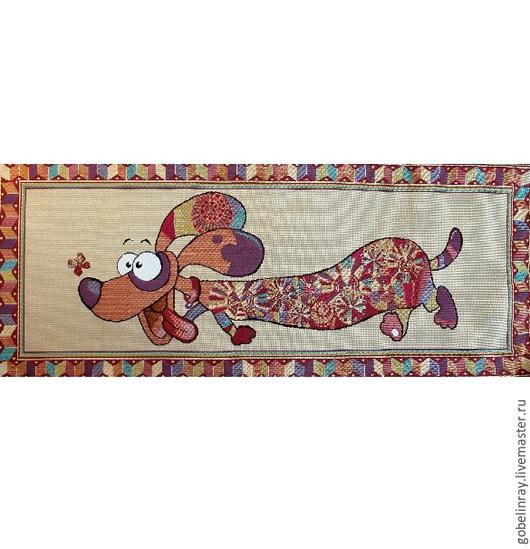 Шитье ручной работы. Ярмарка Мастеров - ручная работа. Купить Весельчак: гобеленовая заготовка без оверлока, 85-35 см. Handmade.
