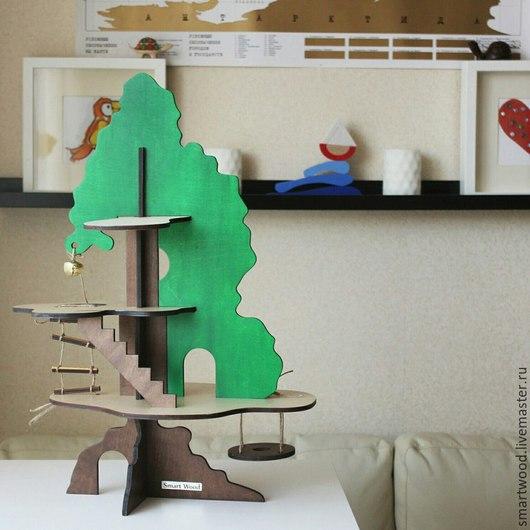 Кукольный дом ручной работы. Ярмарка Мастеров - ручная работа. Купить Кукольный домик Дерево. Handmade. Кукольный дом