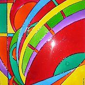 Картины и панно ручной работы. Ярмарка Мастеров - ручная работа Абстрактная картинка. Handmade.