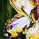 Oil painting of iris. Pictures. Zabaikalie. Online shopping on My Livemaster.  Фото №2