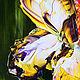 Картина маслом Ирис. Картины. Марина Скромова Цветочные истории. Интернет-магазин Ярмарка Мастеров.  Фото №2