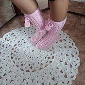 Аксессуары ручной работы. Ярмарка Мастеров - ручная работа носки женские. Handmade.