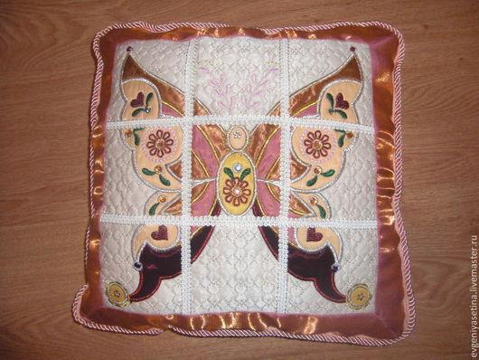 Текстиль, ковры ручной работы. Ярмарка Мастеров - ручная работа. Купить Подушки. Handmade. Разноцветный, ткань для пэчворка