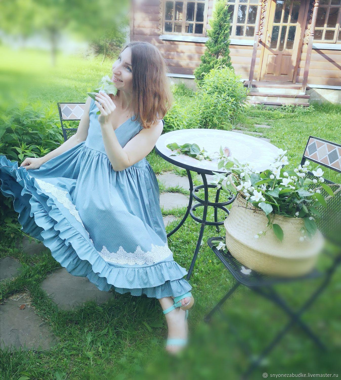 Платье из хлопка Прованс, Платья, Москва,  Фото №1