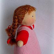 Куклы и игрушки ручной работы. Ярмарка Мастеров - ручная работа Вальдорфская кукла в пришивной одежке  26-28см. Handmade.