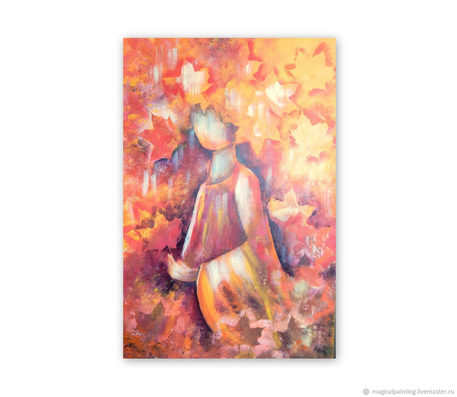 The Painting 'Autumn Girl', Pictures, St. Petersburg,  Фото №1