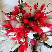 Комплекты аксессуаров для дома ручной работы. Ярмарка Мастеров - ручная работа Букеты из сухоцветов и стабилизированых цветов. Handmade.
