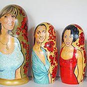 Подарки к праздникам ручной работы. Ярмарка Мастеров - ручная работа Матрешка портретная по фотографии. Handmade.