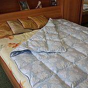 Для дома и интерьера ручной работы. Ярмарка Мастеров - ручная работа Одеяло пуховое. Handmade.