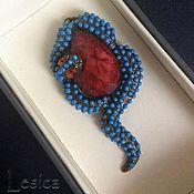 Украшения handmade. Livemaster - original item Pendant turquoise snake Samantha Wills Australia.. Handmade.
