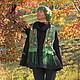 Верхняя одежда ручной работы. Ярмарка Мастеров - ручная работа. Купить Жакет пальто из войлока Francia. Handmade. Темно-серый
