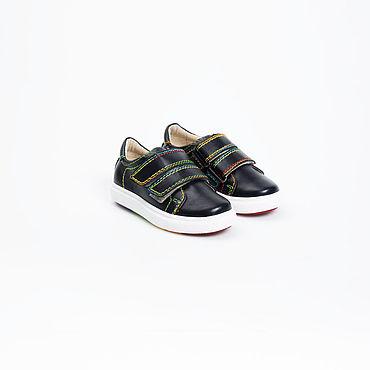 Обувь ручной работы. Ярмарка Мастеров - ручная работа Кеды из натуральной кожи с профилактическим эффектом для мальчиков. Handmade.