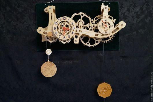 """Часы для дома ручной работы. Ярмарка Мастеров - ручная работа. Купить Кинетическая скульптура """"Часы"""". Handmade. Часы, кинетическая скульптура"""