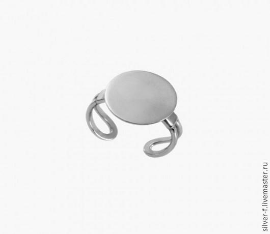 Для украшений ручной работы. Ярмарка Мастеров - ручная работа. Купить Основа для кольца из серебра №5. Handmade. Серебряный