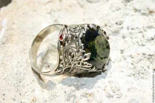 """Кольца ручной работы. Ярмарка Мастеров - ручная работа. Купить кольцо """"Сердце Леса"""". Handmade. Эксклюзивное кольцо, подарок девушке"""
