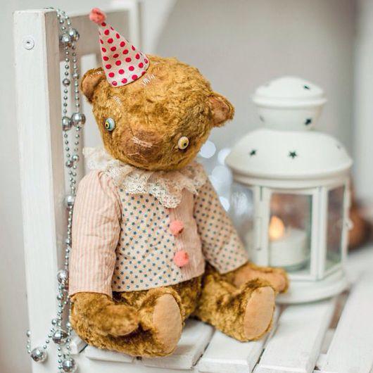 Мишки Тедди ручной работы. Ярмарка Мастеров - ручная работа. Купить Мишка Тедди клоун Компот. Handmade. Тедди, мишка