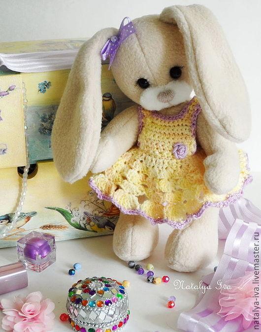 Текстильная игрушка ручной работы. Ярмарка Мастеров - ручная работа. Купить текстильная игрушка Зайка . Handmade