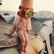 Украшения ручной работы. Ярмарка Мастеров - ручная работа Наручные часы Twice Coffee. Handmade.