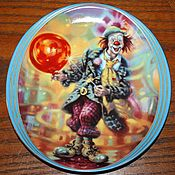 Винтаж handmade. Livemaster - original item Funny plates of the