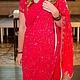 Этническая одежда ручной работы. Ярмарка Мастеров - ручная работа. Купить Индийское сари. Handmade. Фуксия, сари, Этническая одежда