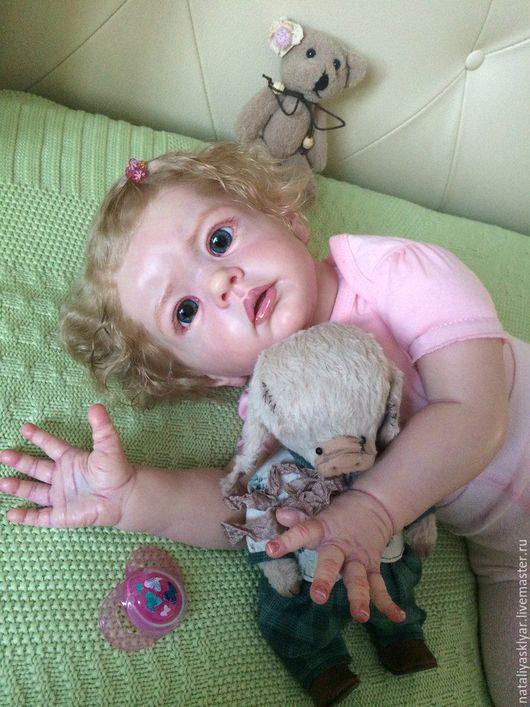 Куклы-младенцы и reborn ручной работы. Ярмарка Мастеров - ручная работа. Купить Кукла реборн из молда Вилма!!!. Handmade. Бежевый