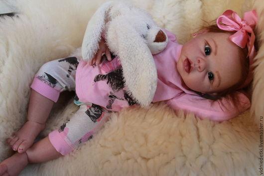 Куклы-младенцы и reborn ручной работы. Ярмарка Мастеров - ручная работа. Купить Кукла реборн Криста из молда Линды Мюррей. Handmade.