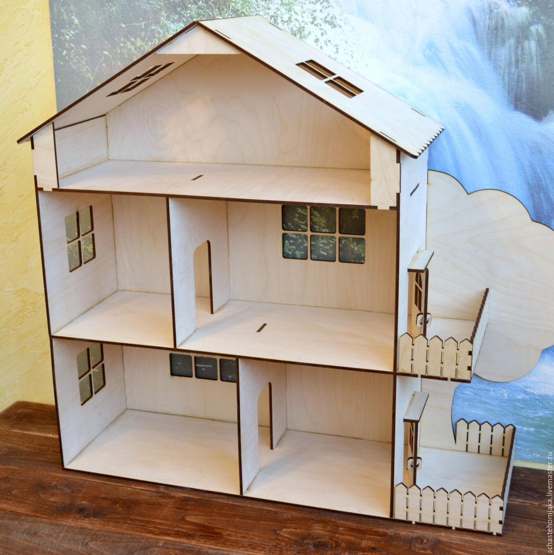 Кукольные домики своими руками фото из фанеры  310