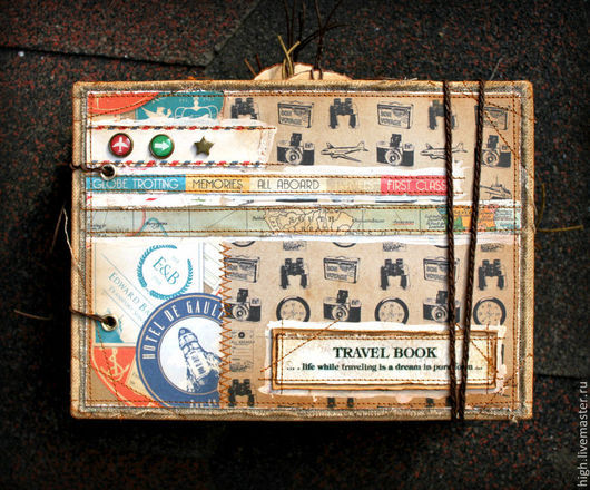 Подробные фото этого альбома здесь: http://www.livemaster.ru/topic/953125-new-travel-book?inside=1&wf=&vr=1