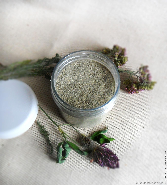 Ubtan 'Chamomile' - for washing, cleansing, skin nutrition, Face Scrub, Chrysostom,  Фото №1