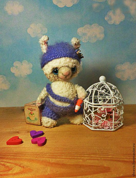 Игрушки животные, ручной работы. Ярмарка Мастеров - ручная работа. Купить Зайчонок ) (вязаная игрушка, зайка, зайчик). Handmade.