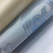 handmade. Livemaster - original item Roller blinds jacquard with a lustrous embossed pattern. Handmade.