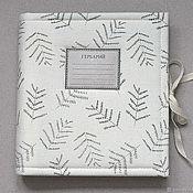 Канцелярские товары handmade. Livemaster - original item Square mini album for herbarium Herbalist (20 plants). Handmade.